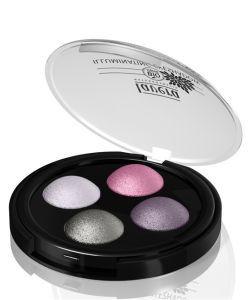 Les incontournables: Fard à paupières lumineux Quattro n°02 - Lavender Couture