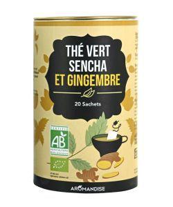 Aliments et Boissons: Thé vert Sencha et Gingembre