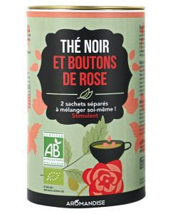 Aliments et Boissons: Thé noir et Boutons de rose