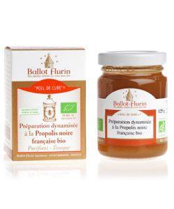 Les incontournables: Miel de cure - Préparation dynamisée à la Propolis noire française