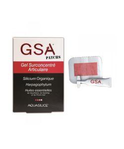 Bien-être Détente: GSA Patchs - Gel surconcentré Articulaire