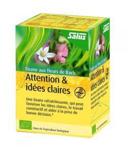 Thérapies naturelles: Tisane aux Fleurs de Bach - Attention & Idées claires