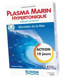 Thérapies naturelles: Plasma marin hypertonique