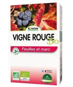 Thérapies naturelles: Vigne rouge bio