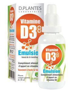 Bien-être Détente: Vitamine D3++ Emulsion
