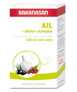 Thérapies naturelles: Ail olivier aubepine
