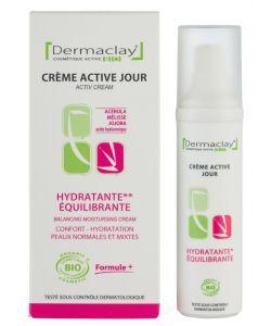 Beauté Hygiène: Crème active Jour - Hydratante Equilibrante