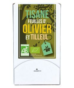 Aliments et Boissons: Tisane feuilles d\'Olivier-Tilleul