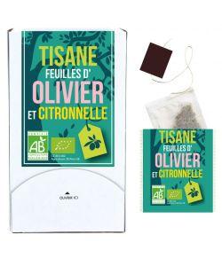Aliments et Boissons: Tisane feuilles d\'Olivier-Citronnelle