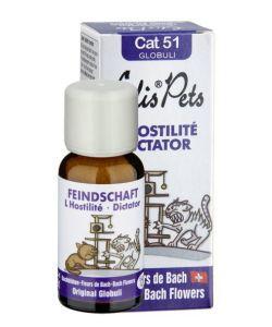 Thérapies naturelles: L\'hostilité - Cat 51 Globuli