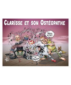 Cadeaux Livres: Clarisse et son Ostéopathe