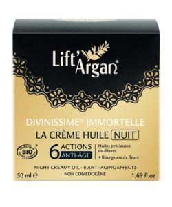 Beauté Hygiène: Divinissime immortelle - Crème huile de Nuit
