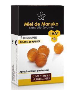 Bien-être Détente: Billes fourrées 30% Miel de Manuka IAA®10+