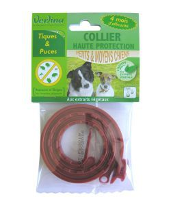 Animaux & Maison: Collier insectifuge - Petits & moyens chiens