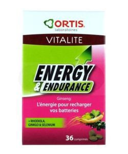 Thérapies naturelles: Energy & Endurance