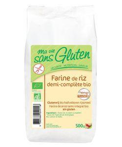 Aliments et Boissons: Farine de riz demi-complète