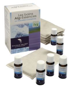 Thérapies naturelles: Les bains Alg-Essences - 3 bains