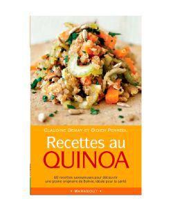 Cadeaux Livres: Recettes au Quinoa