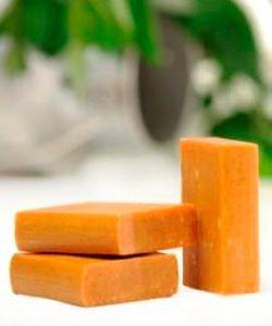 Beauté Hygiène: Savon au lait de chèvre - Abricot/Lemongrass