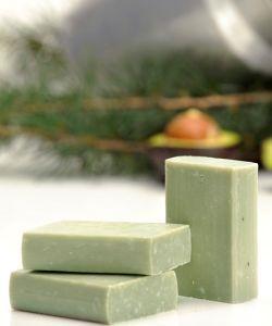 Beauté Hygiène: Savon au lait de chèvre - Avocat/Bois de cèdre