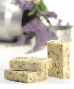 Beauté Hygiène: Savon au lait de chèvre - Beurre de karité/Lavande