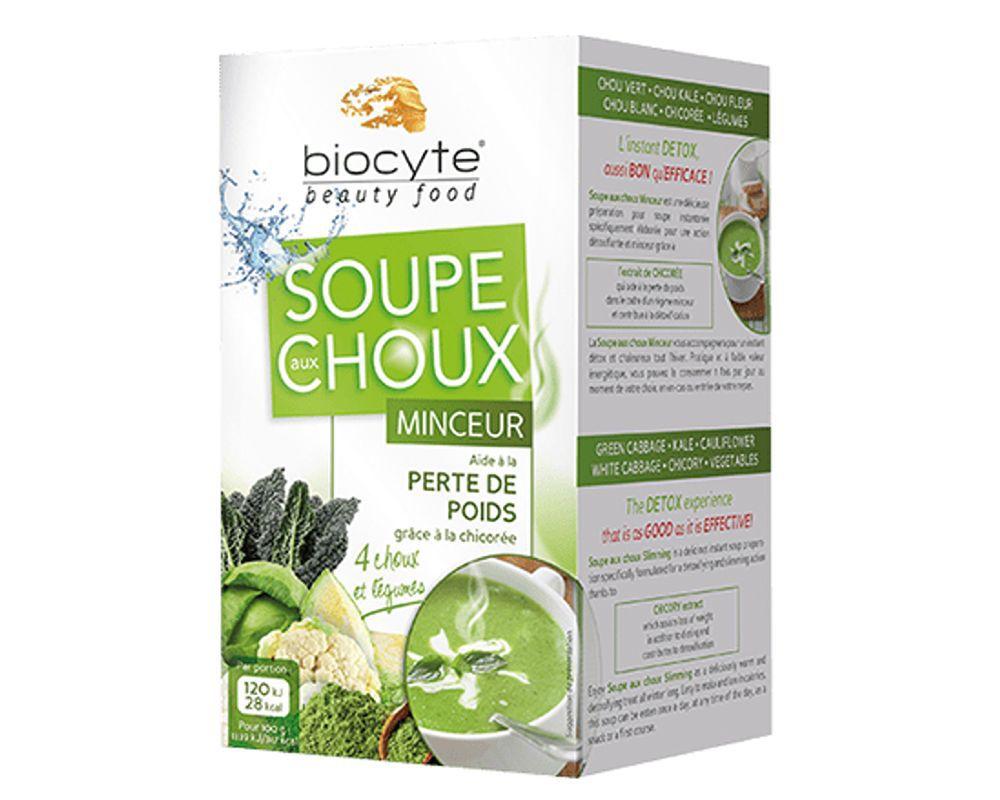 Soupe Aux Choux Minceur Preparation Instantanee Biocyte 108 G