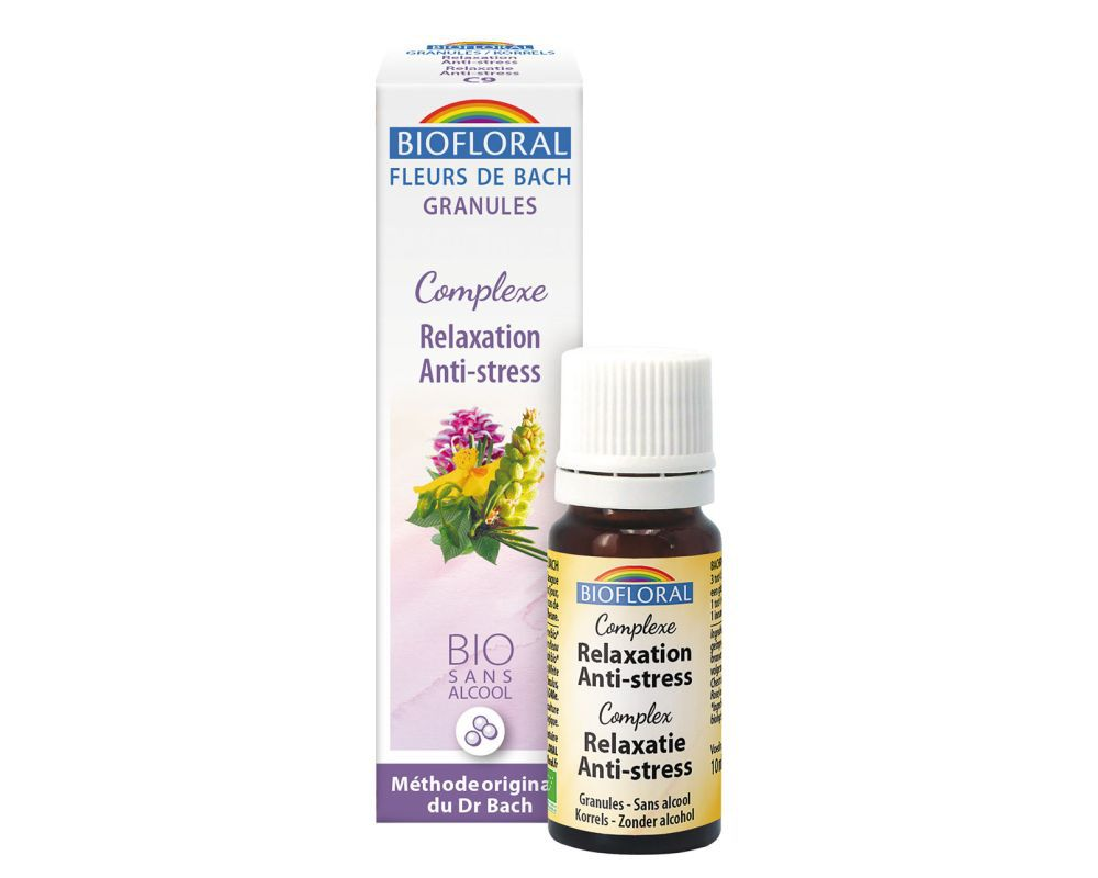 Complexe De Fleurs De Bach N 9 Relaxation Anti Stress Biofloral