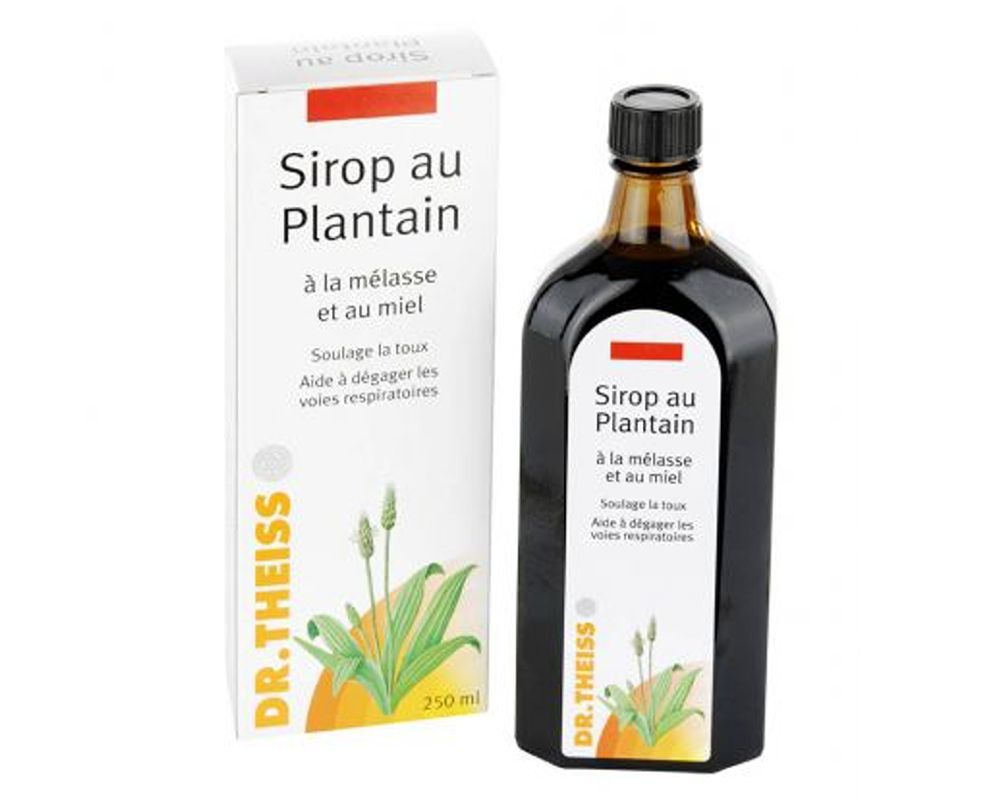 Dr. Theiss - syrup with plantain. Cough syrup with plantain Dr. Theiss: reviews, instructions 5