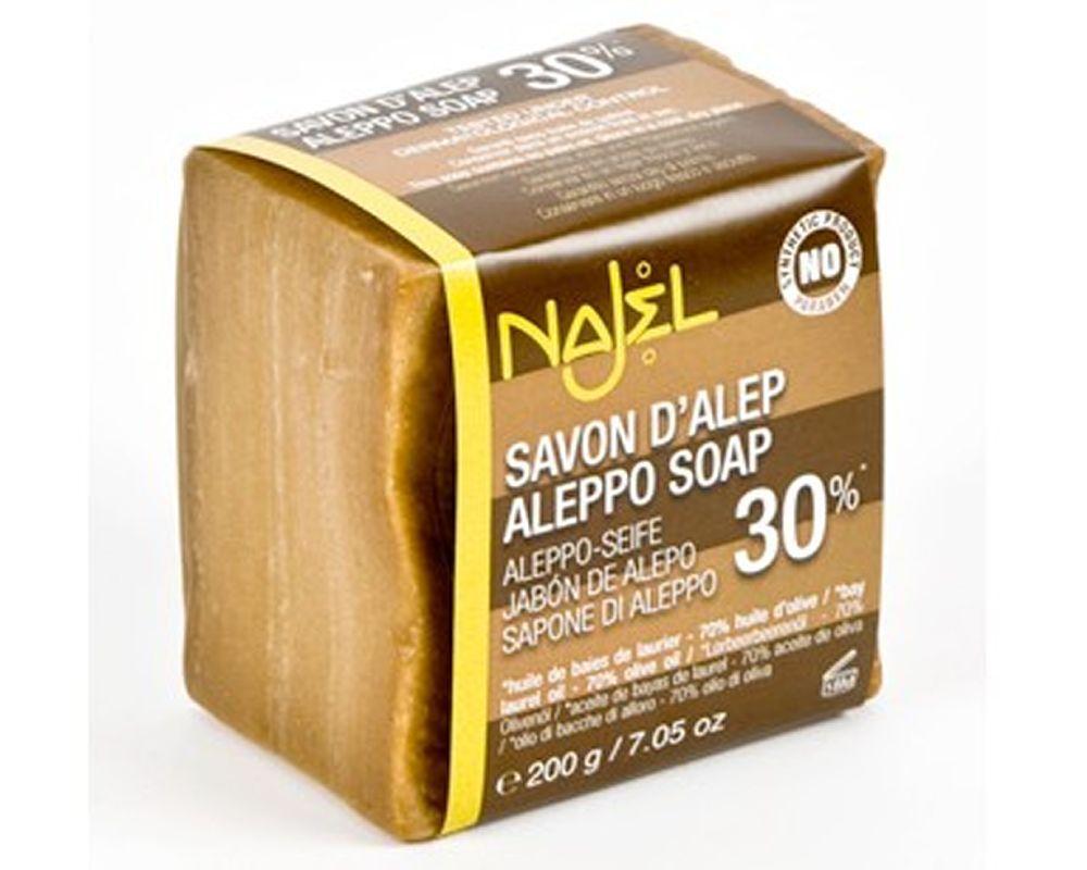 savon d'alep najel 30