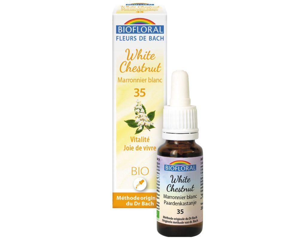 White Chestnut 35 20ml Biofloral