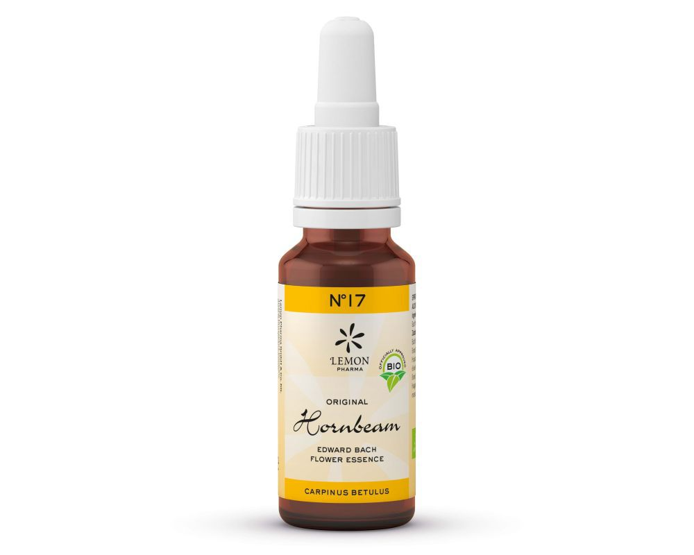 Fleur De Bach N 17 Hornbeam Charme 20ml Bio Lemon Pharma
