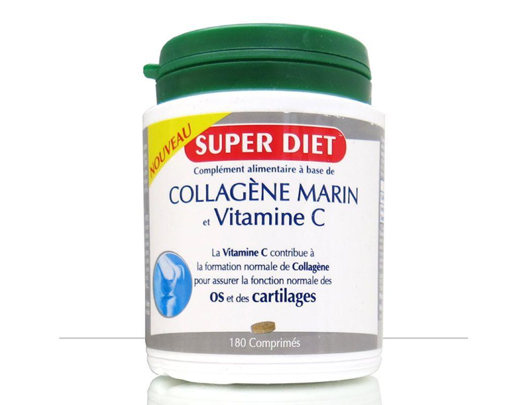 Marine Collagen Vitamin C Super Diet 180 Pills White Vit Non Contractual Photo