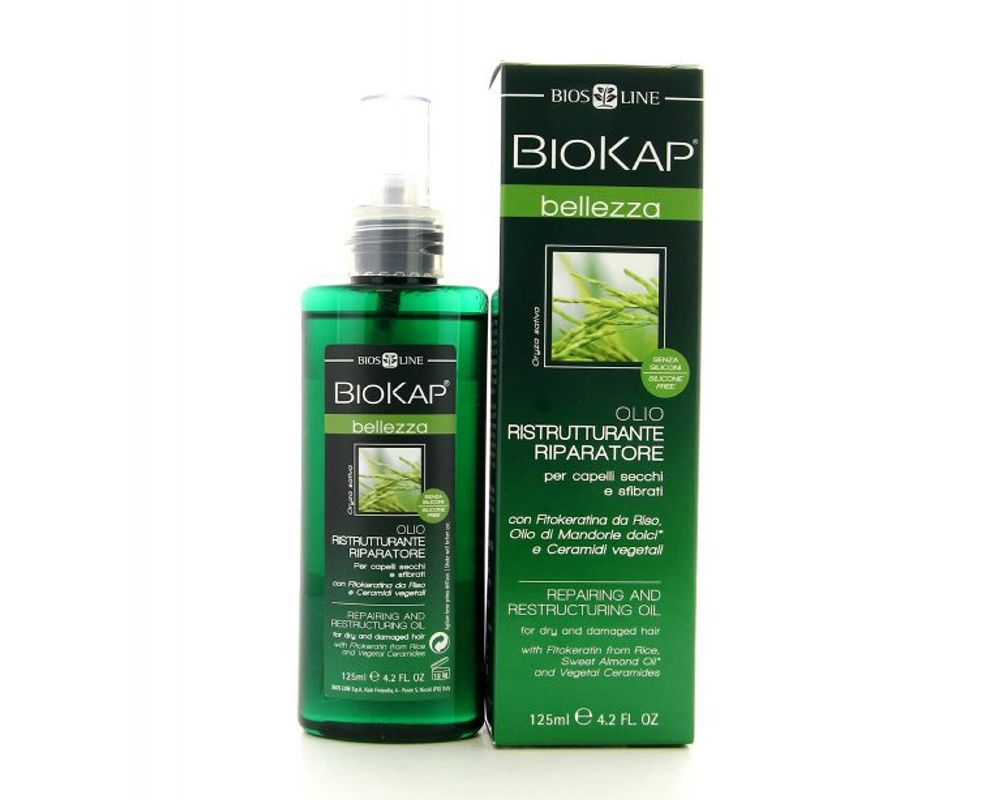 Restorative Replenishing Oil Biokap Bellezza 125ml Bios Line Vegetable Glycerine 125 Ml Non Contractual Photo