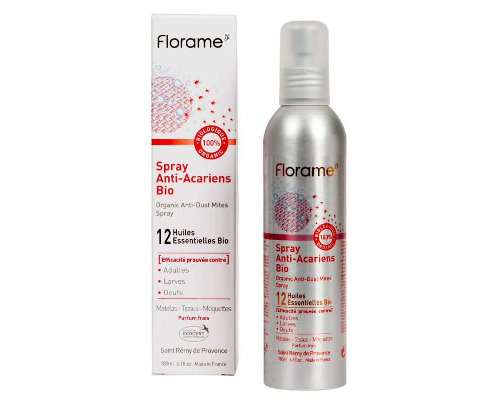 Spray Anti Acariens Bio Florame 180 Ml