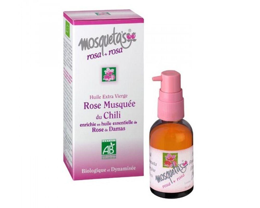huile vegetale rose de damas