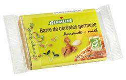 Barre de céréales germées : Amande/Miel - DLU 17/01/2020 BIO, 40g