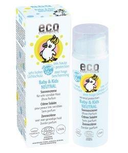 Crème solaire Baby & Kids Neutre - SPF 50+ BIO, 50ml