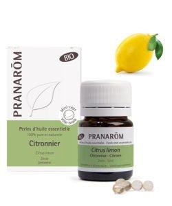 Citronnier - Perles d'huile essentielle BIO, 60perles