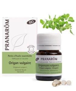 Origan Vulgaire - Perles d'huile essentielle BIO, 60perles