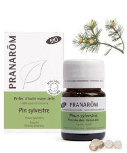 Pin Sylvestre - Perles d'huile essentielle BIO, 60perles