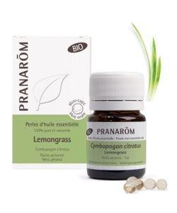 Lemongrass - Perles d'huile essentielle BIO, 60perles