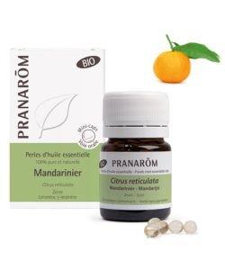 Mandarinier - Perles d'huile essentielle BIO, 60perles