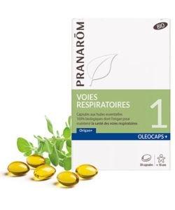 Oleocaps 1 Voies respiratoires - Emballage Abîmé BIO, 30capsules