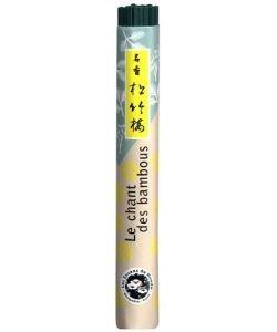 Encens japonais (rouleau court): Le chant des Bambous, 40bâtonnets