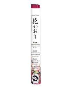 Encens japonais (rouleau court): Rose, 35bâtonnets