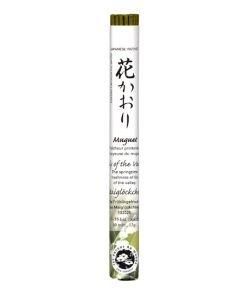 Encens japonais (rouleau court): Muguet, 35bâtonnets