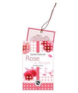 Sachet parfumé - Rose du Bengale