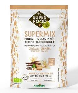 SuperMix - Poudre petit-déjeuner - Amande, Chia & Vanille BIO, 350g