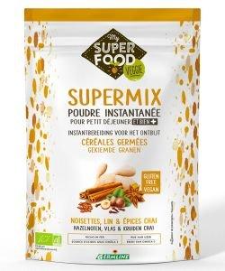 SuperMix - Poudre petit-déjeuner - Noisette, Lin & Epices Chai BIO, 350g