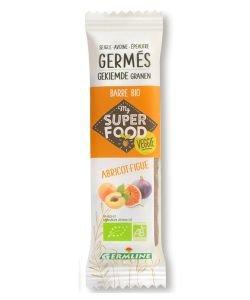 Barre de céréales germées : Abricot - Figue - DLUO 01/12/19 BIO, 33g
